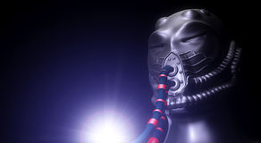 Alien robot concept Stock Images
