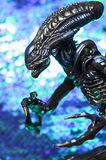 Alien from sci-fi movie Stock Image