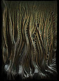 Alien skin. Wonderful free flowing entangled alien type skin ,forest, anything you can use as art stock photo