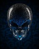 Alien skull Stock Image