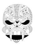 Alien skull Stock Photo