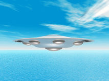 Alien Spacecraft Royalty Free Stock Photo