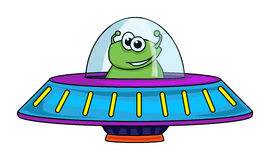 Alien spaceship Royalty Free Stock Photo