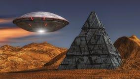 Free Alien Spaceship UFO Concept Royalty Free Stock Image - 109035096