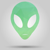 Alien symbol Royalty Free Stock Images