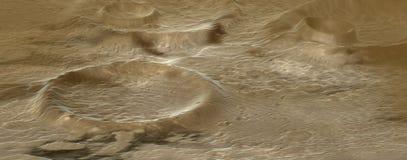 Alien terrain Stock Images