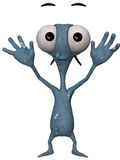 Alien Toon Figure Royalty Free Stock Image