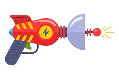 Free Alien Toy Gun From The 60s. Fantastic Weapon. Royalty Free Stock Images - 211876819
