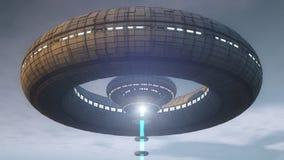 Alien UFO Royalty Free Stock Photography