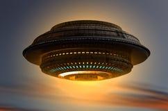 Alien UFO ship Stock Photos