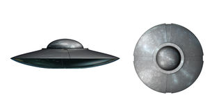 Alien UFO spaceship Stock Photography