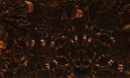 Alien Virus Abstract Fractal Design Royalty Free Stock Photo
