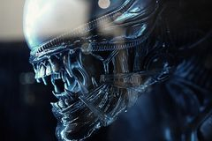 Alien Vs. Predator Royalty Free Stock Photography