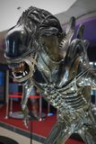 Alien vs. predator. Predator Alien vs. Predator. In the Museum of Film Legends in Prague 30.3.2018 Royalty Free Stock Photos