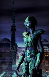 Alien warrior Royalty Free Stock Photo