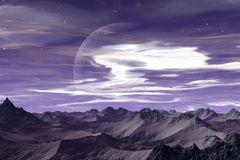 Alien world - Apeiros stock image