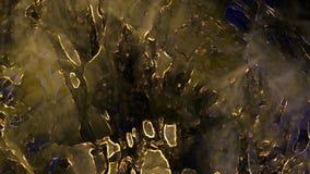 Alien world strange planet concept art eerie atmospheric grunge mysterious misty texture digital abstract illustration background. Alien world strange planet royalty free stock photo