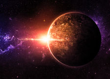 Alien Worlds Royalty Free Stock Photos