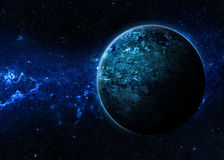 Alien Worlds. Image of alien worlds - Elements of this Image Furnished by NASA royalty free stock images