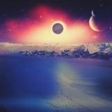 Alien worlds. Stock Image