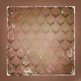 Alienated a employé le fond de papier avec l'ornamental Images libres de droits