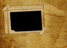 Alienated frame for photo. On the abstract background Stock Photo