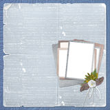 Alienated frame for photo Royalty Free Stock Photos