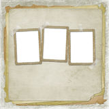 Alienated frame for photo Royalty Free Stock Photography