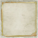 Alienated old paper for cover. Or photoalbum Royalty Free Stock Images