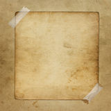 Alienated paper for announcement. On the abstract background Royalty Free Stock Image