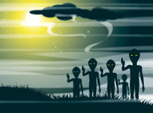 Aliens Stock Photography