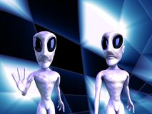 Aliens Royalty Free Stock Photography
