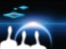 Aliens Royalty Free Stock Images
