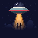 Aliens research Royalty Free Stock Images