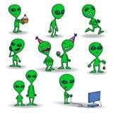 Aliens Stock Photography