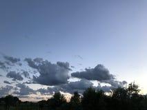 Alife-Wolken Stockfotografie