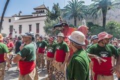Aliga figure at Festa Major in Sitges, Spain Royalty Free Stock Photos