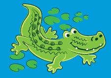 Aligator royalty ilustracja