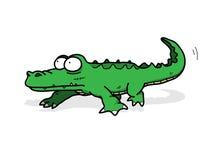 Aligator, krokodyl/ royalty ilustracja