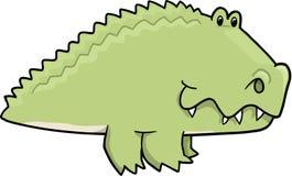 aligatora śliczny ilustraci wektor Fotografia Stock