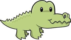 aligatora śliczny ilustraci wektor Obraz Royalty Free