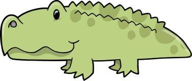 aligatora śliczny ilustraci wektor Fotografia Royalty Free