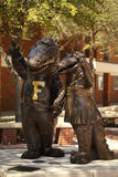 aligatora Florida maskotki uniwersyteckie Zdjęcia Royalty Free