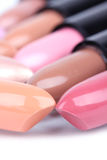 Align lipsticks Stock Image