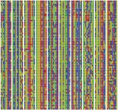 Alignement d'ordre d'ADN illustration libre de droits