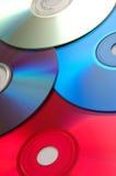 Alignement de CD Photo libre de droits
