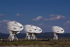 Alignement de VLA Photos libres de droits