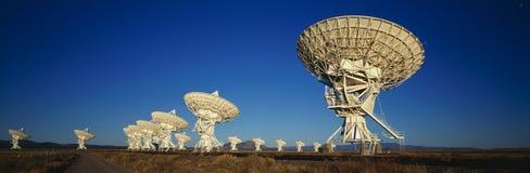 Alignement très grand dans Socorro, nanomètre image stock