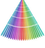 Alignment of Crayons Royalty Free Stock Photo