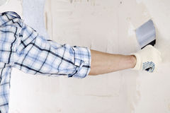 Aligns wall Stock Photography